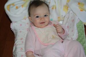 Девочка 6 месяцев