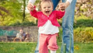 Девочка в 10 месяцев