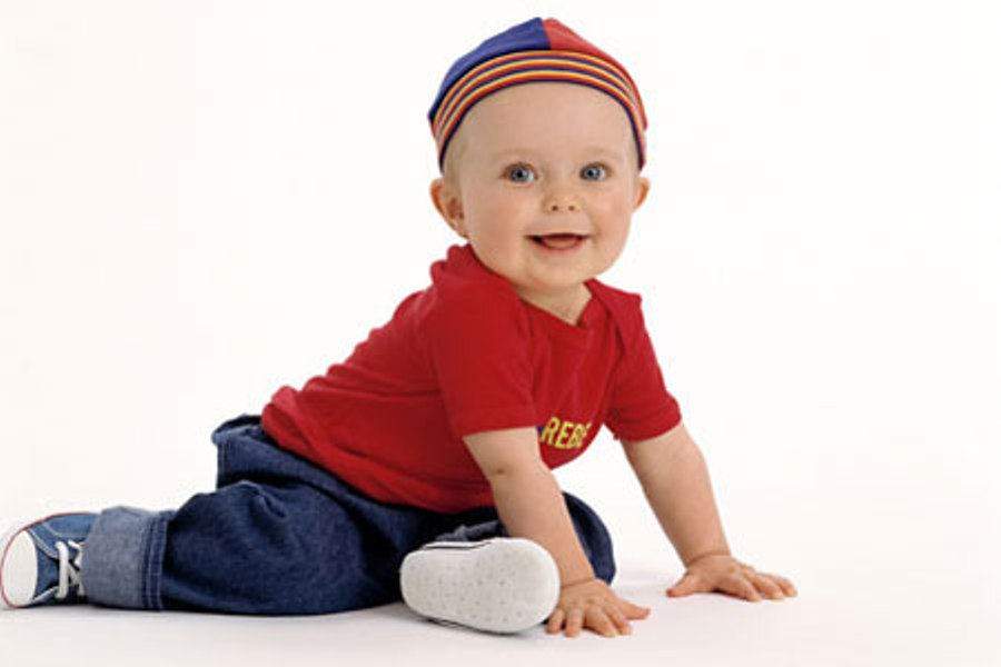 Видео ребенок 8 месяцев