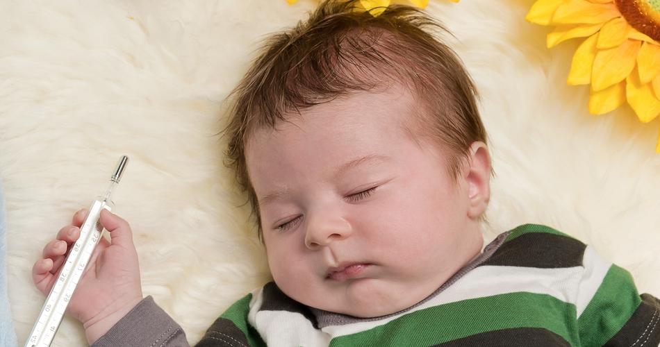 Как сбить температуру у ребенка 1 месяца