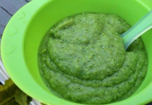 Как сделать прикорм из кабачка для ребенка